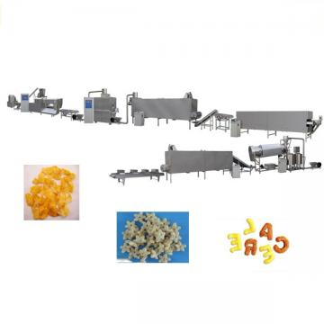 Puffed Core Filling Snack Extruder Machine Chocolate Core Filled Bar Pillow Snack Making Machine Puffing Corn Flake Puffing Cereal Baby Snack Machine