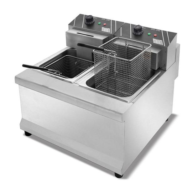 Mijiagao 2020 New Product Commercial Kitchen Equipment Pressure Fryer for Fried Chicken Shop Electric Fryer Food Equipment Machinery Deep Auto-Lift Fryer #1 image