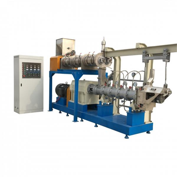 1-2tph Complete Animal Feed Machine and Fish Food Machine Production Line Including Pellet Machine as Granulator, Extruder, Grinding Machine #1 image