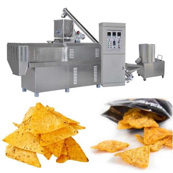 Saibainuo Automatic Corn Puff Core Filled Filling Stick Snack Food Cheese Ball Breakfast Cereal Flake Bread Crumb Making Processing Equipment Extruder Machine #1 image