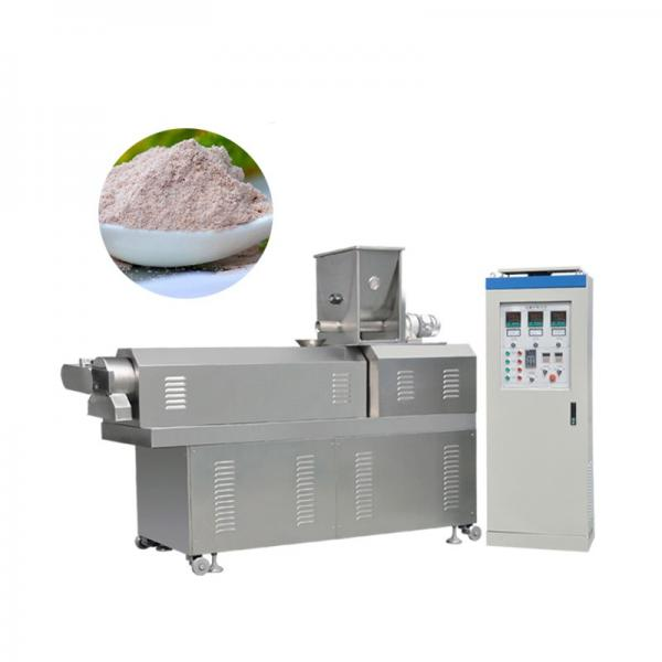 Direct Puff Kurkure Corn Snack Food Pellet Making Extruder Machine / Corn Flakes Food Machinery / Breakfase Cereal Equipment Core Filling Baby Food Line #1 image